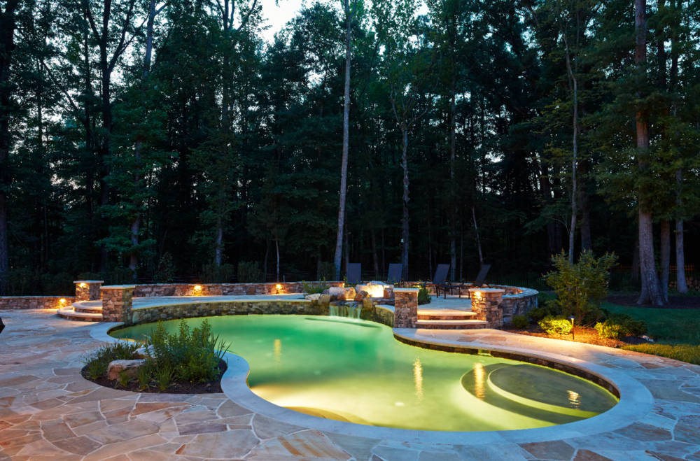 Marcia fryer landscape designs fine home landscapes and for Pool design richmond va