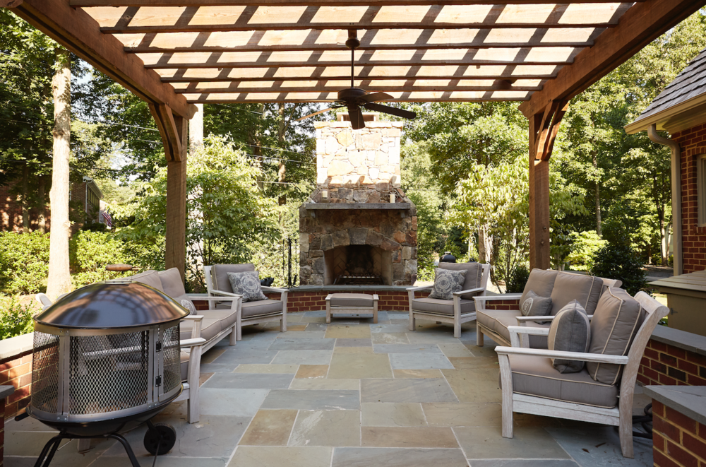Marcia Fryer Landscape Designs | Richmond VA | Rock Fireplace | Perfect  Patio.png
