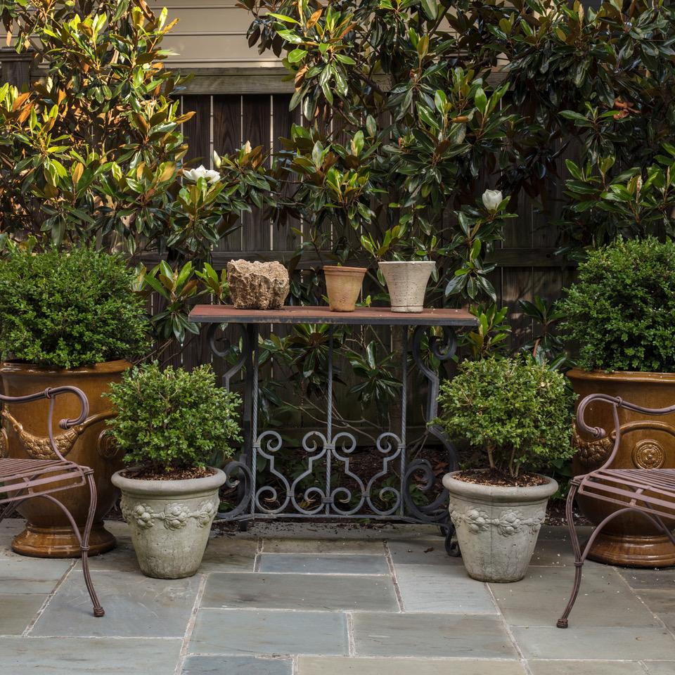 Marcia Fryer Landscape Designs | New West End Backyard | Hardscape Patio | 3.jpeg