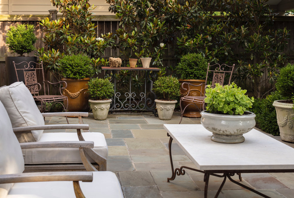 Marcia Fryer Landscape Designs | New West End Backyard | Hardscape Patio.jpeg