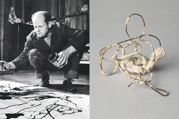 jackson pollock's first love was sculpture, not painting - written for artsy, february 2018