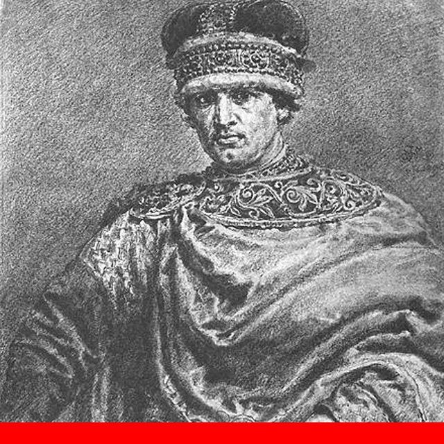 "This guy? His name is Władysław II. He was the High Duke of Poland for a pretty short period of time, because he was not really good at his job. Which is what eventually earned him the moniker, ""Władysław II the Exile"". He's the focus of the latest episode of the History of Poland Podcast. Available for free on Apple Podcasts, Google Podcasts, Spotify, or from a link in the description."