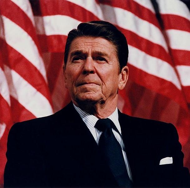 Photo 3: Reagan in 1982