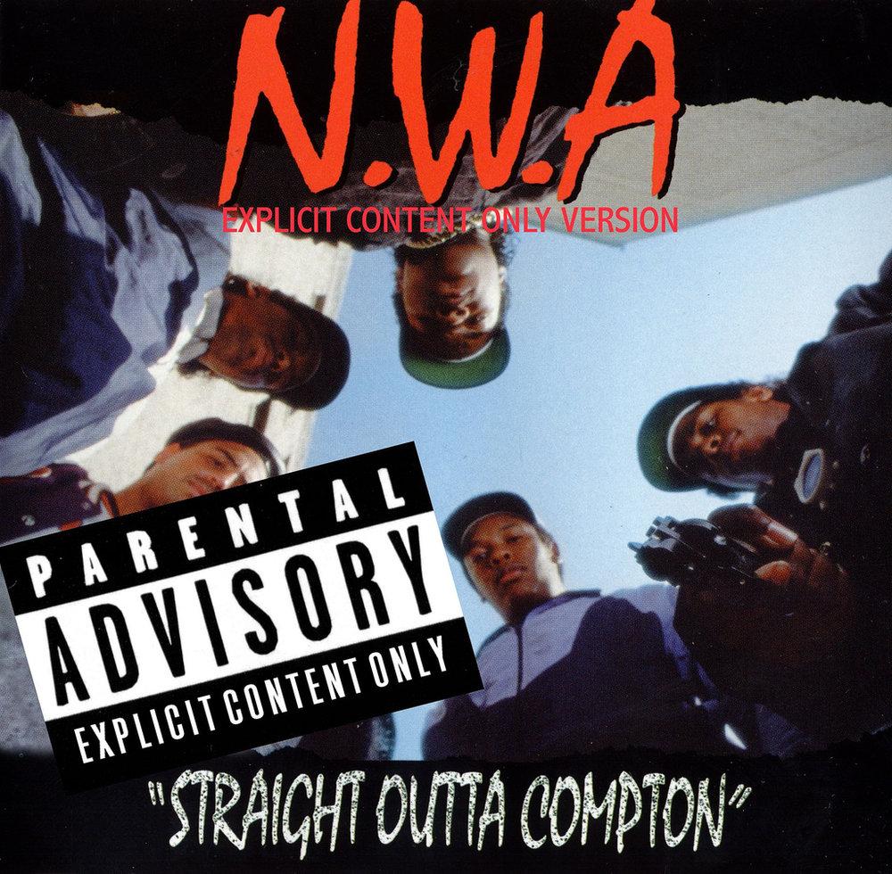 Photo 2:  Straight Outta Compton  album cover