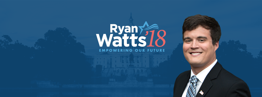 Ryan Watts is a Democrat seeking the 6th Congressional District, currently held by Rep. Mark Walker, a Republican.