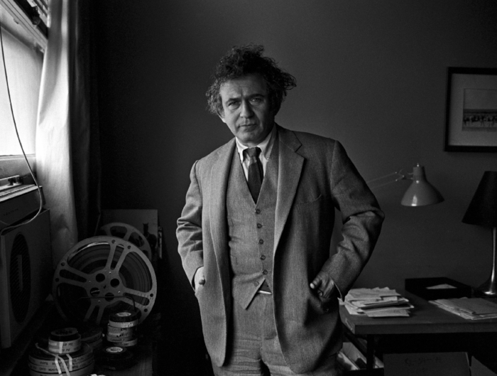 A photograph of Norman Mailer from The New York Times.