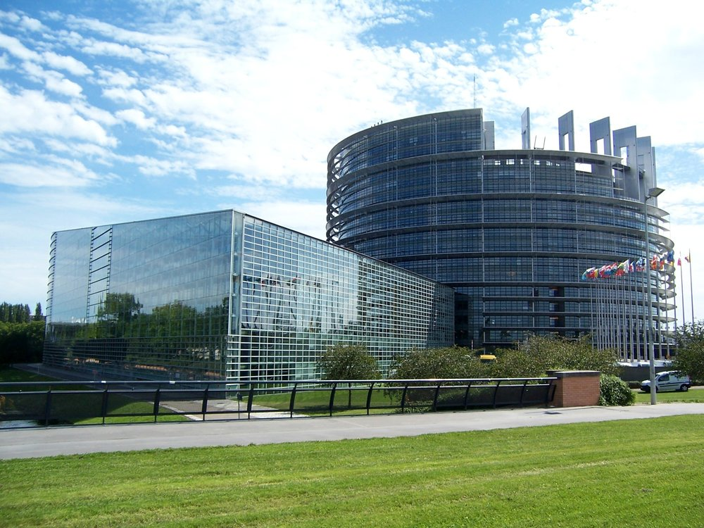 The European Parliament in Brussels, Belgium ( source )