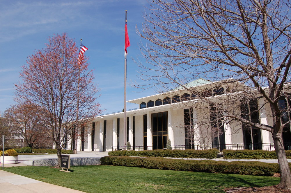The North Carolina Legislative Building in Raleigh ( source )