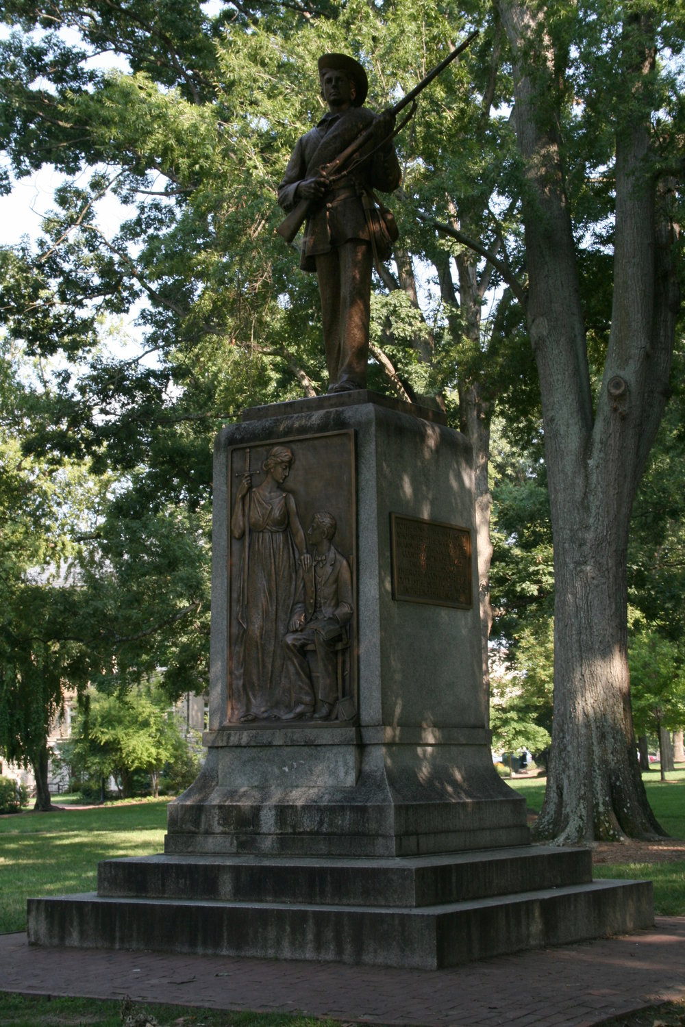 Silent Sam in 2008 ( source )