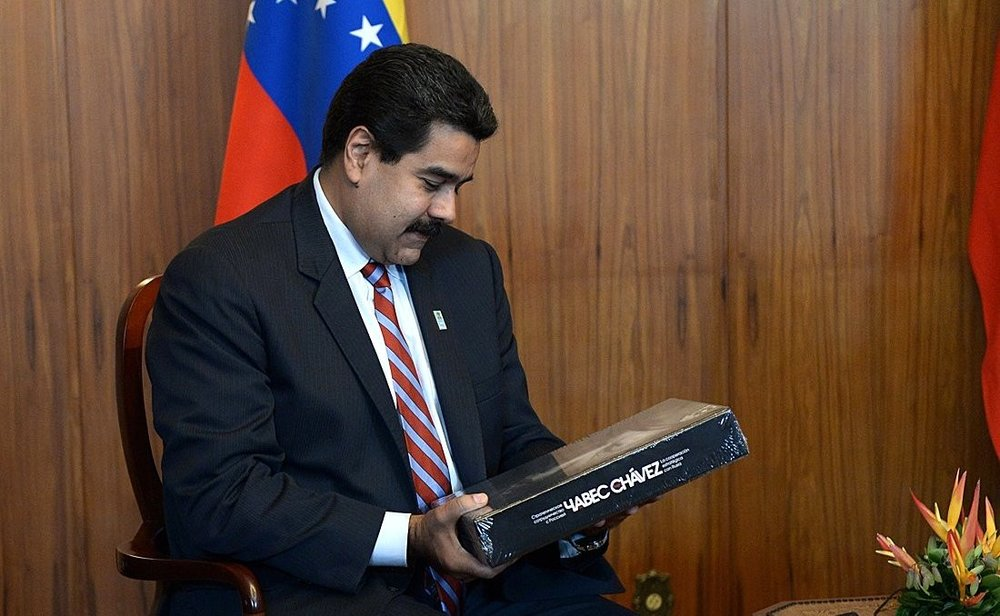 Nicolás Maduro, President of Venezuela, in 2014 ( source )