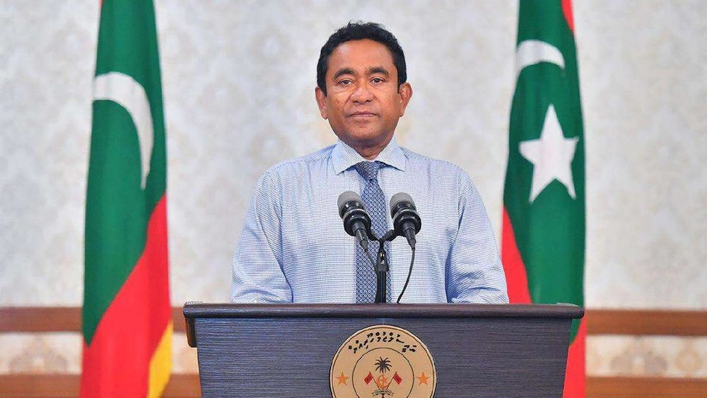 Maldives President Abdulla Yameen ( source )