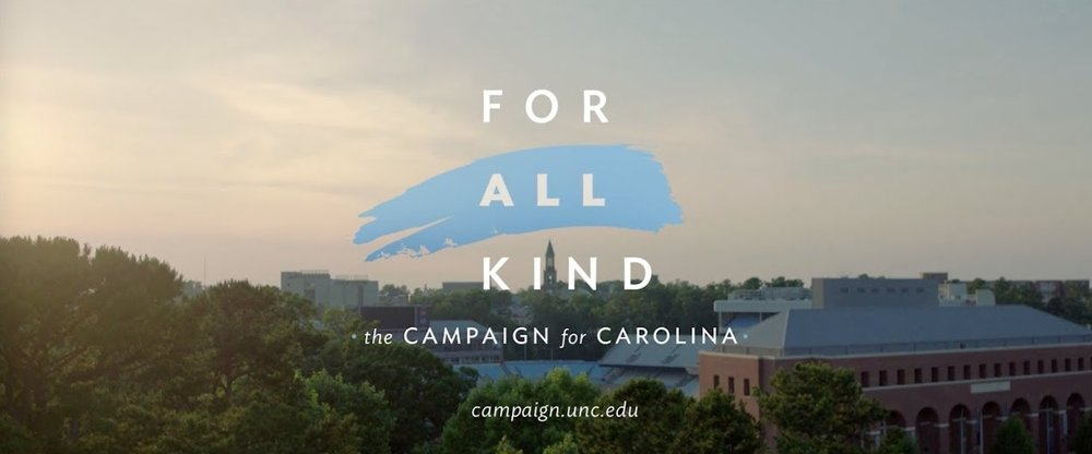 "A graphic taken from a video produced for the university's ""For All Kind"" campaign ( source )"