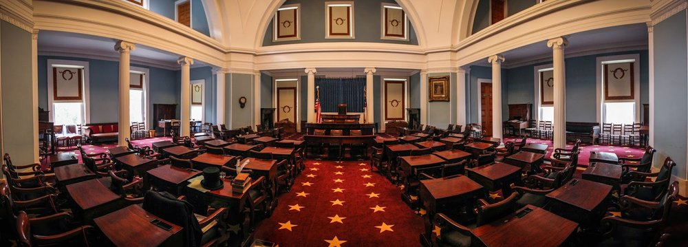 The North Carolina Senate Chamber ( Image )