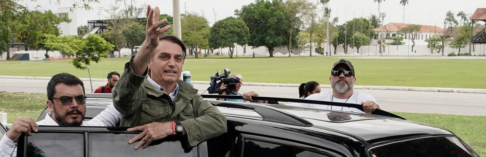 Brazilian President-Elect Jair Bolsonaro following Sunday's election results ( Image )