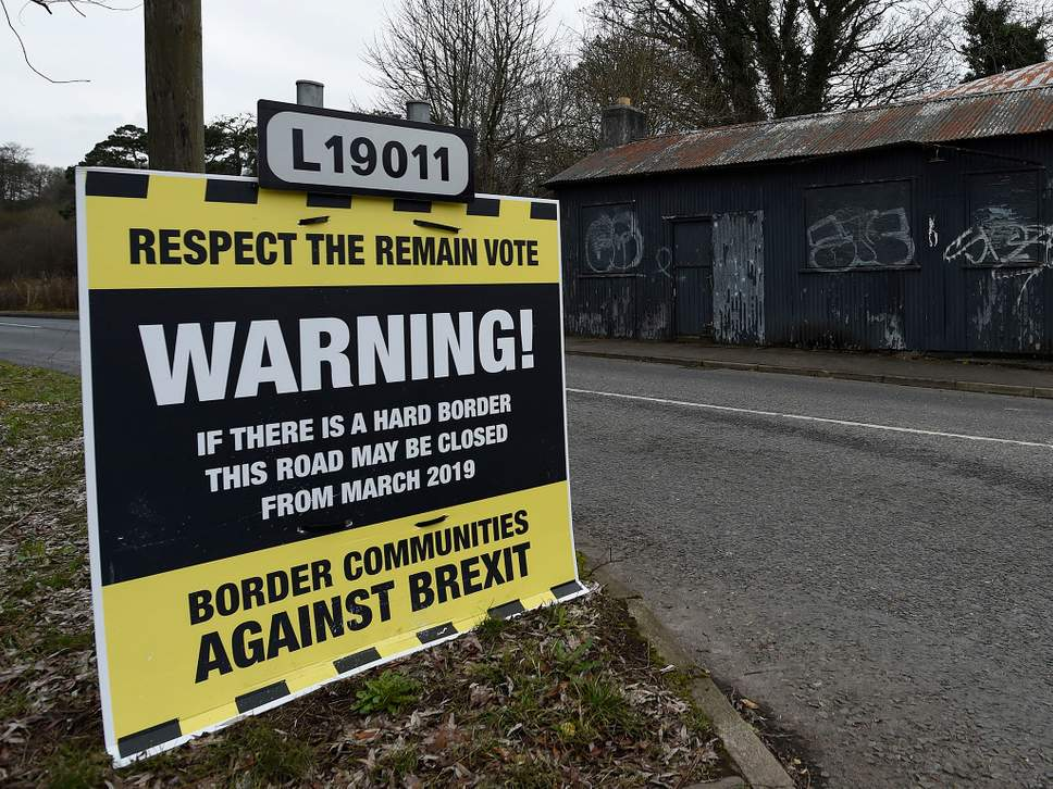 A roadside sign campaigning for the United Kingdom to remain in the European Union ( Image )