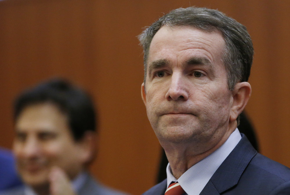 Virginia Governor Ralph Northam at a press conference in Richmond last month ( Image )