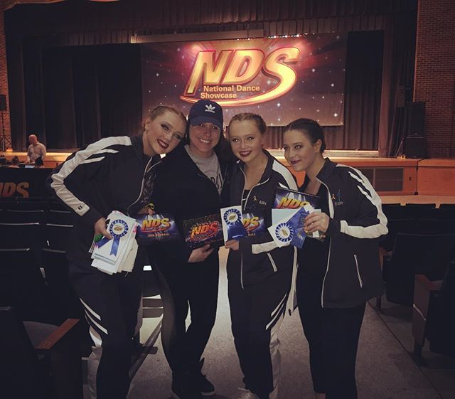 So proud of these three last night! Kicking off our Comp weekend at @ndsdance with three amazing performances. Congratulations to Brianna for winning top Contemporary solo and 3Rd overall. Congratulations to Abby for her judges award for Articulation and Musicality as well as 5th overall.  And to Say You Love Me Trio... thank you Isma for stepping in so Carol could enjoy her prom. Learning the dance in one day and placing 2nd overall as well as being one of two dances receiving the Star Champion Scholarship.  Congratulations to all of the other studios. We are having so much fun so far this weekend! can't wait for today!