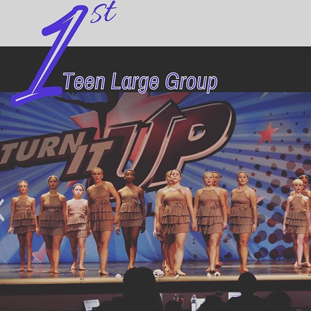 Congratulations to Supermarket Flowers on such an outstanding performance & first place overall Teen Large group at Turn It Up