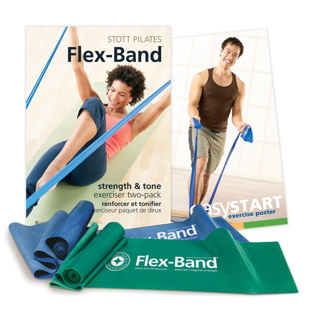 Flex-Bands to s-t-r-e-t-c-h it out!