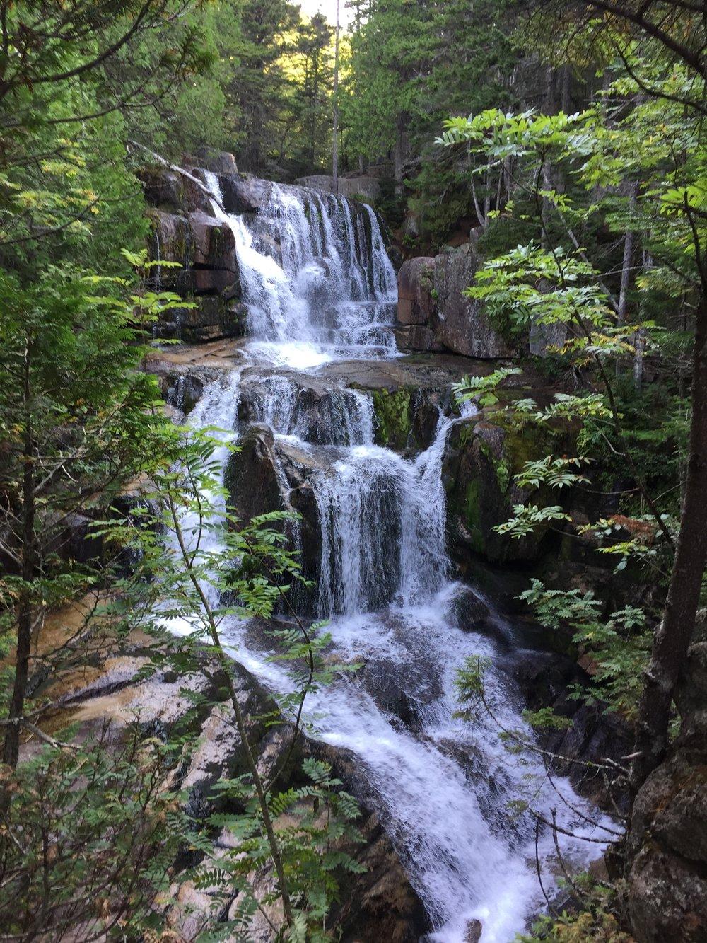 Katahdin Stream Falls in Baxter State Park