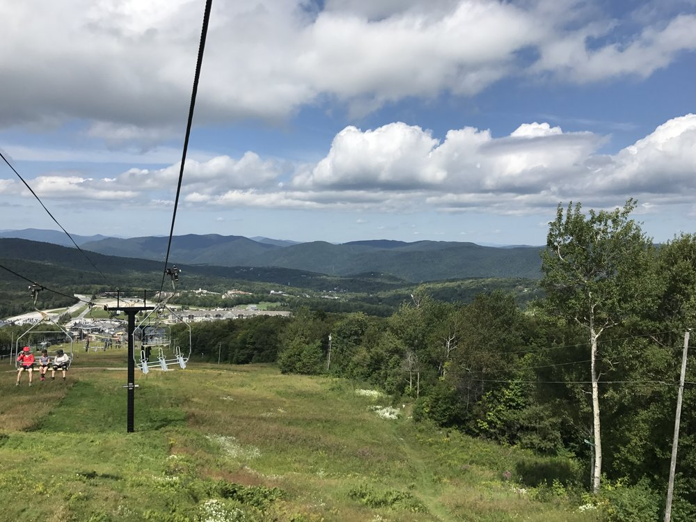 View from the chair lift