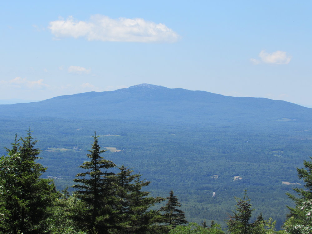 Mount Monadnock from the North Pack Mountain