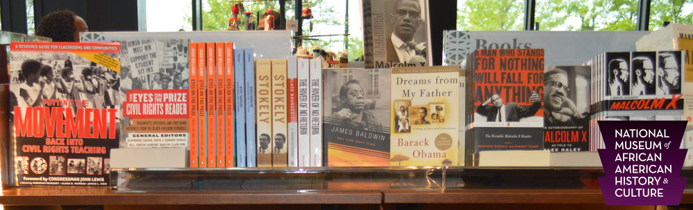 We are very honored that our publication,  Putting the Movement Back into Civil Rights Teaching , is on the top shelf at the museum store for the Smithsonian National Museum of African American History and Culture (NMAAHC).