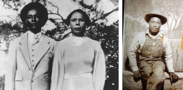 Herbert and Prince Lee (left photo). Louis Allen (right photo).