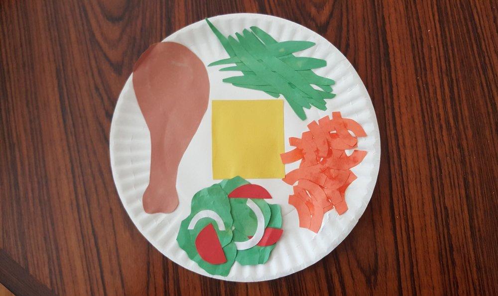 Comfort food plate.