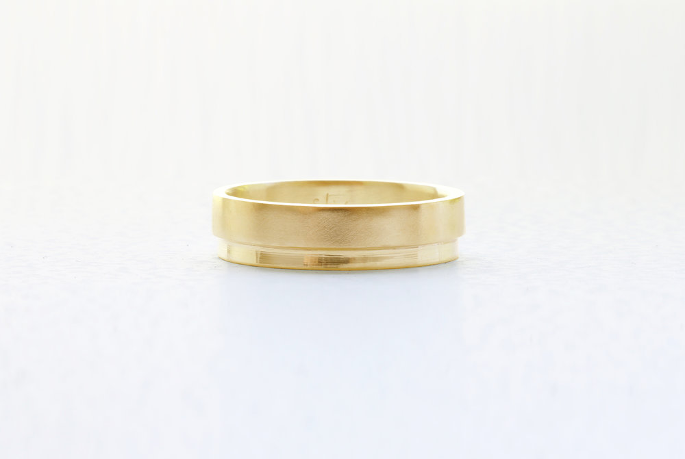 Christine Vasan | Tier Ring in Yellow Gold