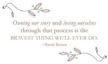 MPK Counseling Inspirational quote Brene Brown