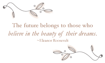 MPK Counseling Coaching Inspirational quote Eleanor Roosevelt