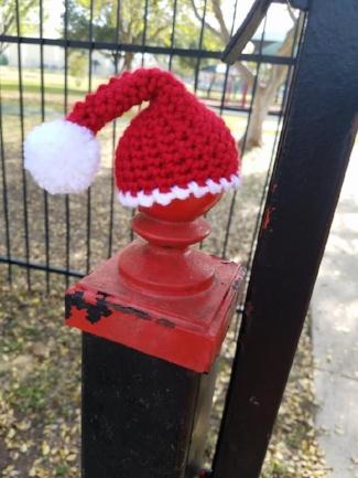 santa hat yarnbomb.jpg