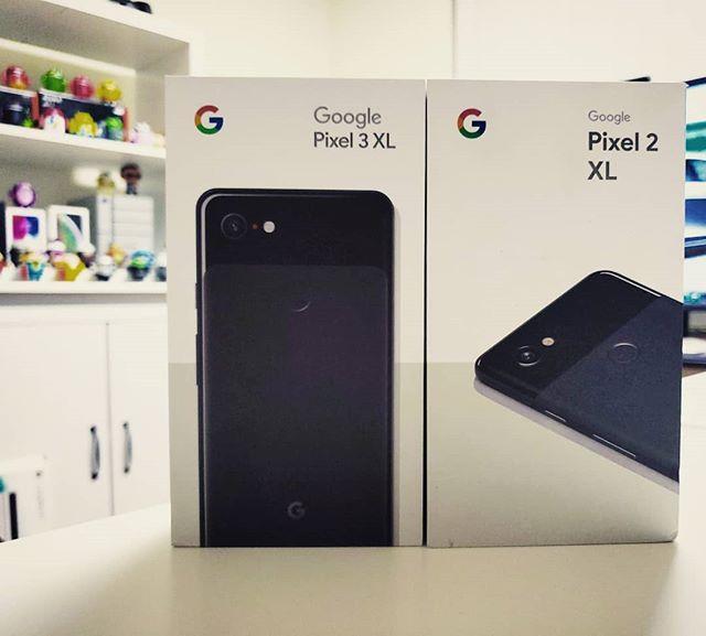 #pixel3xl & #pixel2xl . . . . . #madebygoogle @madebygoogle @google @android #smartphone #android #androidphone #googlepixel #pixel3 #pixel2