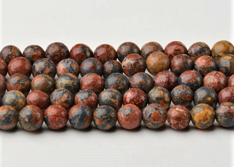 Leopard Jasper   Chakra: Heart.Good for the emotions.Helps balance the yin/yang.Good for being in the present moment.Grounding.