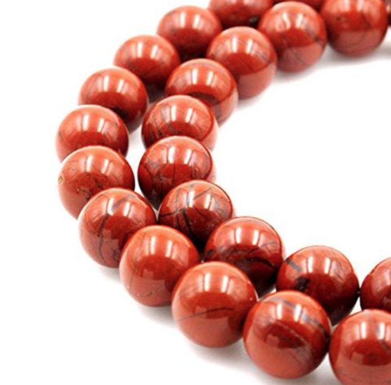 Red Jasper   Chakra: base. Offers protection. Aids in rebirth, new ideas, astral travel, meditation, survival instincts, and dream recall.
