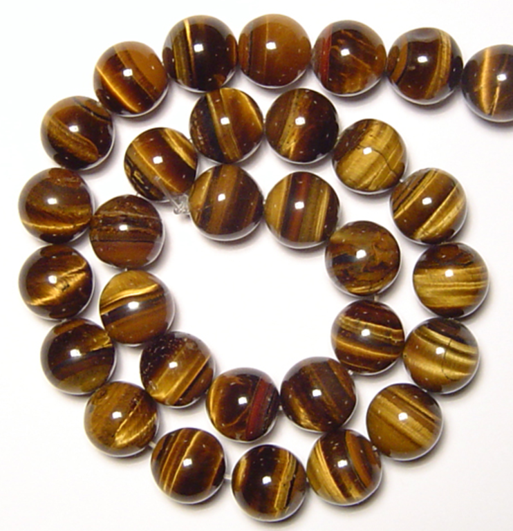 Tiger's Eye     Chakra: Solar Plexus. Good for balance, calm and grounding. Helps ease fear, worry, turmoil, and negativity.