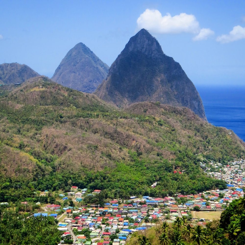 Soufrière and The Pitons