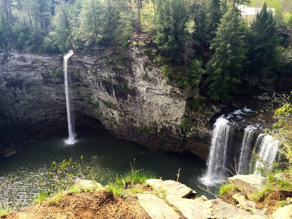 Fall Creek Falls State Park — The Snows Out West