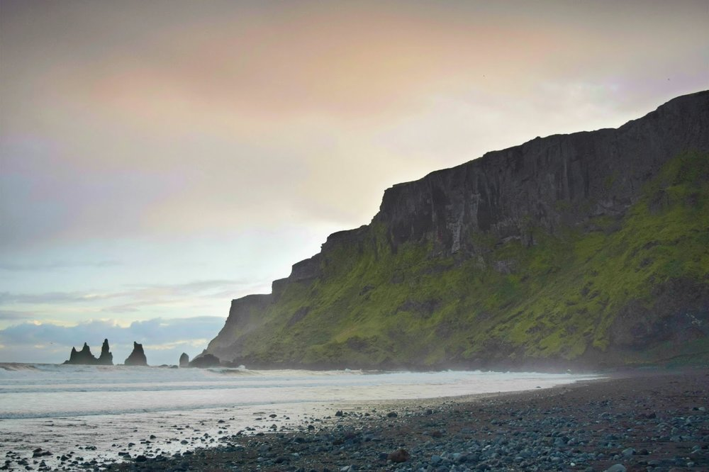 Black Sand Beach, Vik
