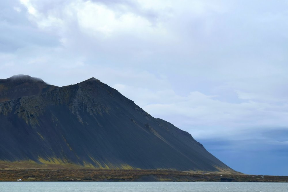 Mountains in the Westfjords