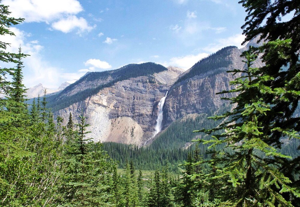 Takakkaw Falls from the Iceline Trail, Yoho National Park