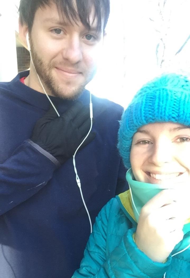 Christmas morning run!