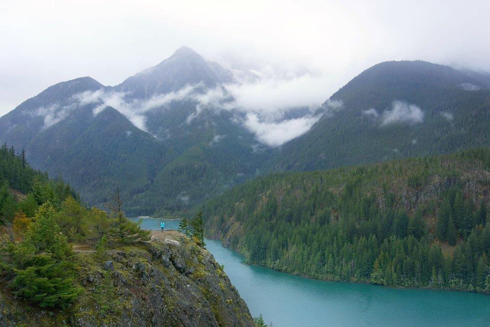 Diablo Lake, North Cascade National Park