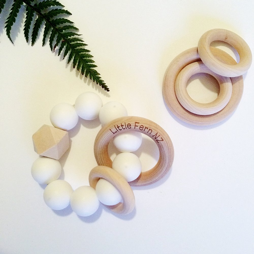 Little Fern Teethers - Designed and made in New Zealand. All our teethers are strength and safety tested and meet New Zealand & Australian compliance.