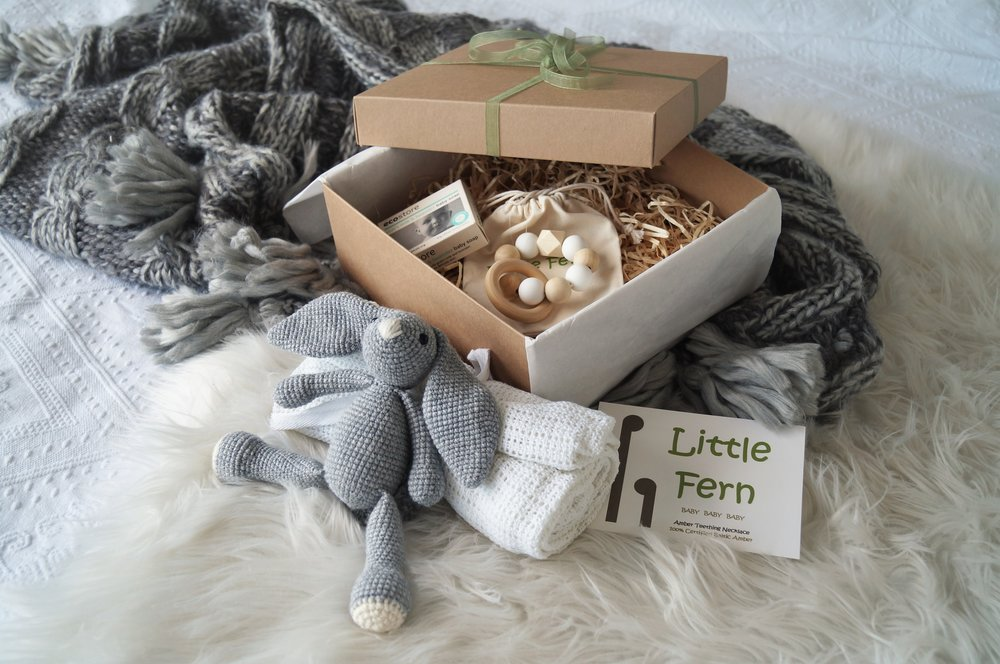 GIFT BOXES - The littlest feet make the biggest footprints in our hearts. From WELCOME BABY to LETS PLAY we have the put together our gift boxes based on our own years of experience and our children's favourite things.