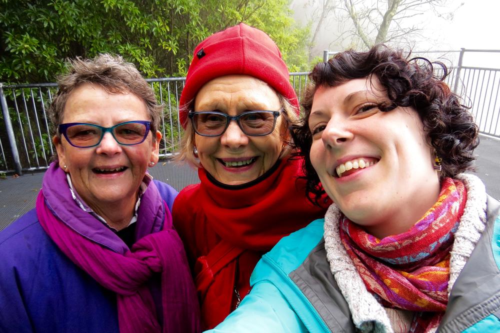 Selfie at Fitzroy Falls