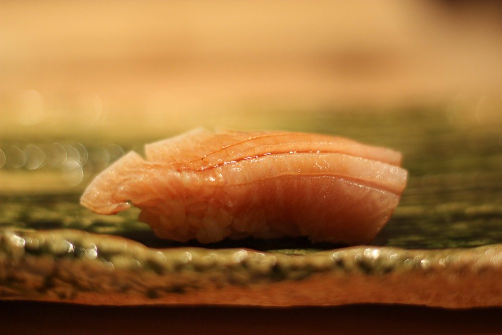Buri (adult yellowtail - very fatty right now)