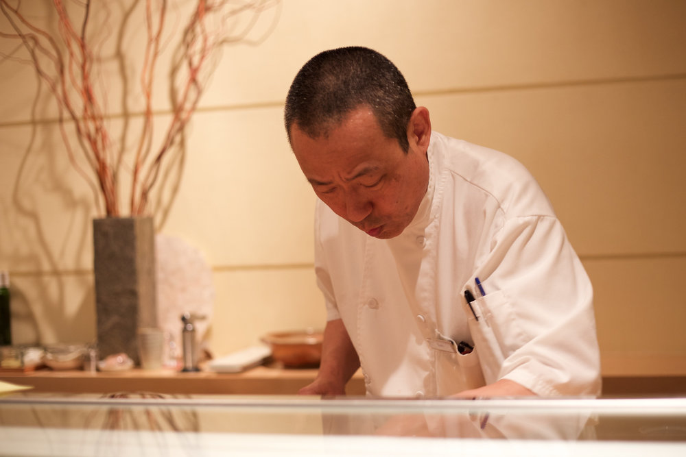 "Executive chef Osamu ""Sam"" Ito"