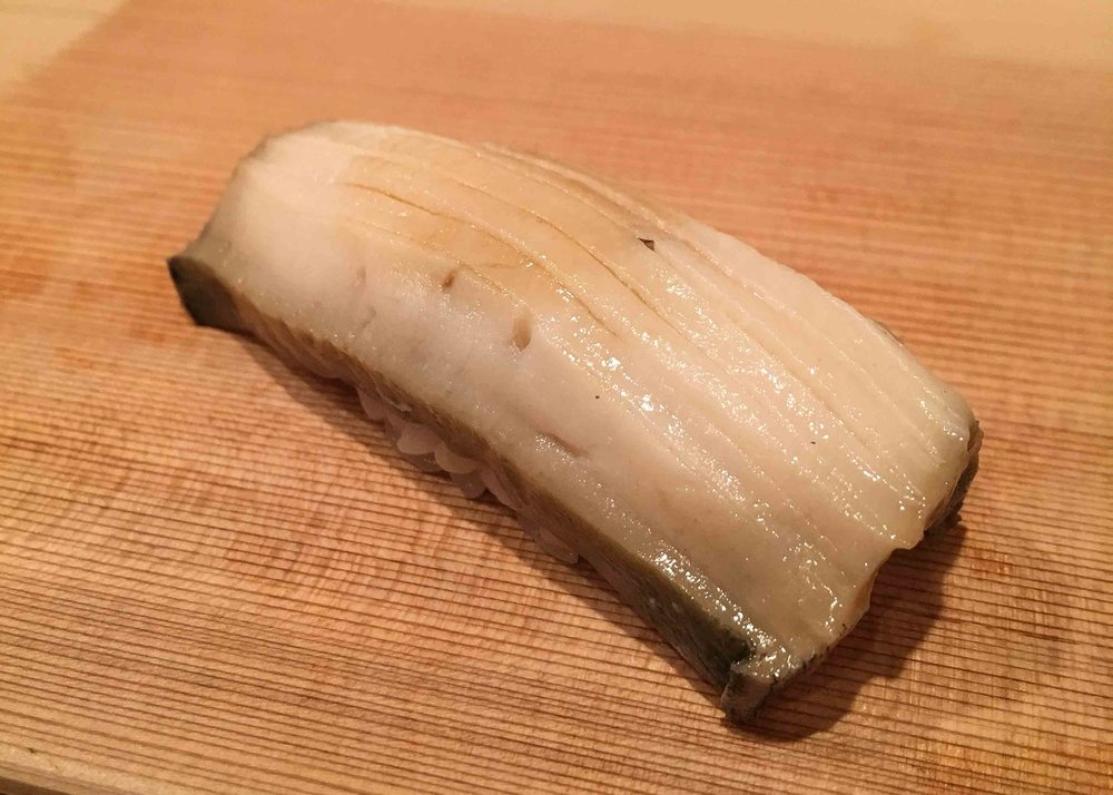 Awabi - soft in texture, and full of umami.
